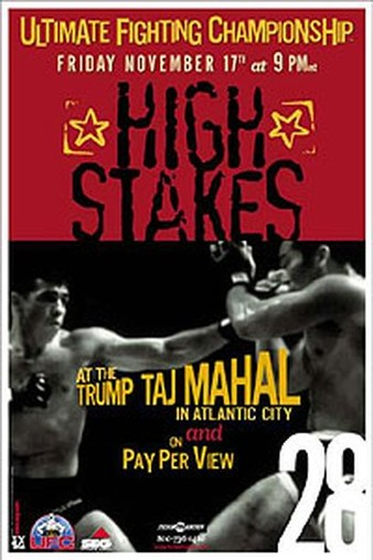 UFC_28_High_Stakes_Poster