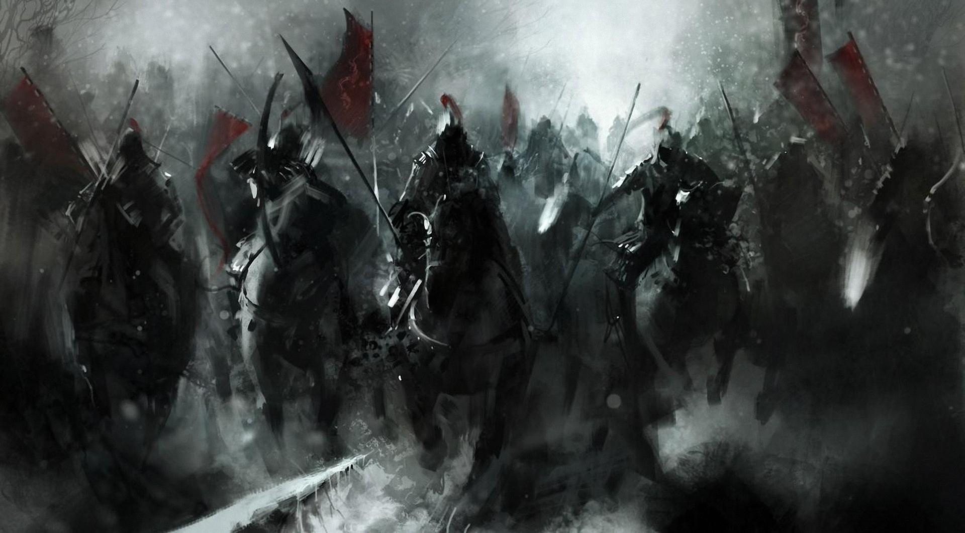 mongols-fantasy-knight-warrior-soldiers-animals-horses-asian-oriental